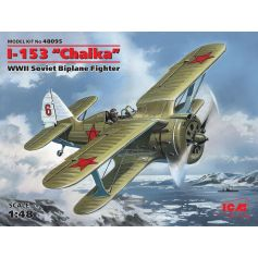 "ICM 48095 I-153 ""CHAIKA"", WWII SOVIET BIPLANE FIGHTER 1:48"