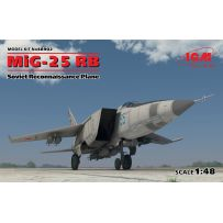 SOVIET RECONNAISSANCE PLANE MiG-25 RB 1/48