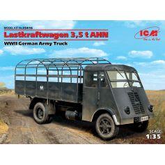 ICM 35416 LASTKRAFTWAGEN 3,5 T AHN, WWII GERMAN ARMY TRUCK 1:35