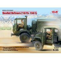 SOVIET DRIVERS 1979-1991 1/35