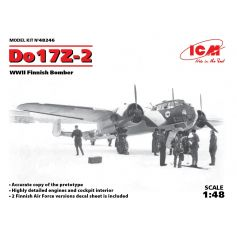 Do 17z-2 Wwii Finnish Bomber 1/48
