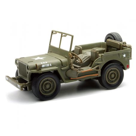 Jeep Willys Die-Cast 1/32