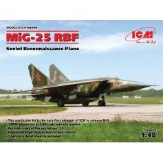 MiG-25 RBF Soviet Reconnaissance Plane 1/48