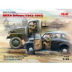 RKKA Drivers 1943-1945 2 figures 1/35