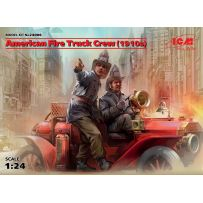 ICM 24006 EQUIPAGE DE POMPIER AMERICAIN 1910 FORD T 1/24