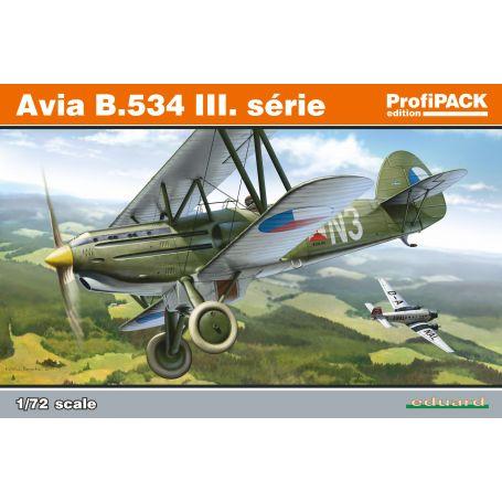 EDUARD 70101 Avia B.534 III. série 1/72 PROFIPACK