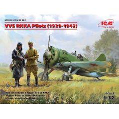 VVS RKKA Pilots 1939-1942 3 figures 1/32