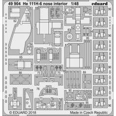 He 111h-6 Nose Interior 1/48