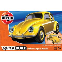 VW Beetle yellow