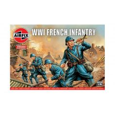 WW1 French Infantry 1/76