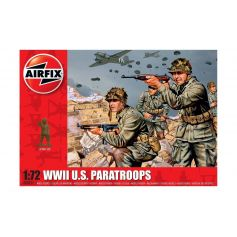 WWII US Paratroops 1/76