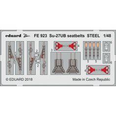 Su-27ub Seatbelts Steel 1/48