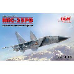 MiG-25 PD Soviet Interceptor Fighter 1/48