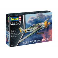 Model Set Focke Wulf Fw190 F-8 1/72