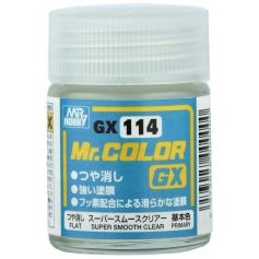 Mr. Color GX Super Smooth Clear Flat (18ml)