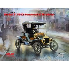 Model T 1912 Roadster Commercial 1/24