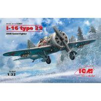 AVION DE CHASSE SOVIETIQUE WWII I-16 TYPE 29 1/32