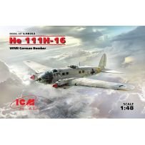 BOMBARDIER ALLEMAND WWII HEINKEL HE 111H-16 1/48