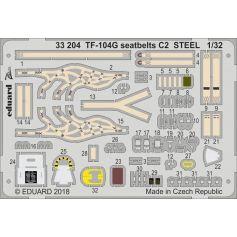 Tf-104g Seatbelts C2 Steel 1/32