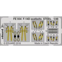 F-14D seatbelts STEEL 1/48