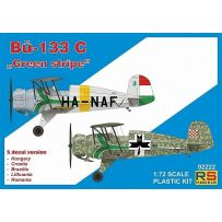 RS MODELS 92222 BUCKER 133 C GREEN STRIPE 1/72