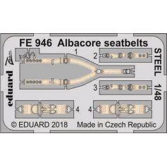 Albacore Seatbelts Steel 1/48