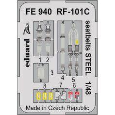 Rf-101c Seatbelts Steel 1/48