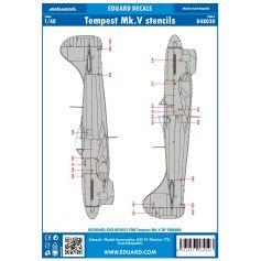 Tempest Mk.V Stencils 1/48