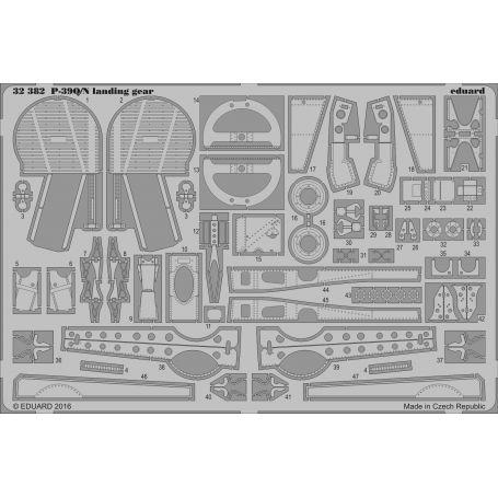 EDUARD 32382 P-39Q/N LANDING GEAR 1/32
