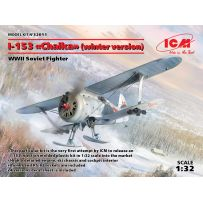 I-153 (WINTER VERSION) WWII SOVIET FIGHTER 1/32