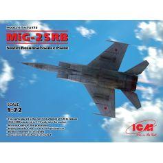 MiG-25 RB Soviet Reconnaissance Plane 1/72