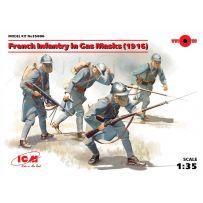 ICM 35696 INFANTERIE FRANCAISE / MASQUES A GAZ 1916 1/35 (06/17)