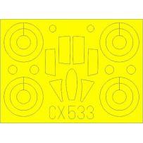 EDUARD CX533 MIG-25RBT 1/72