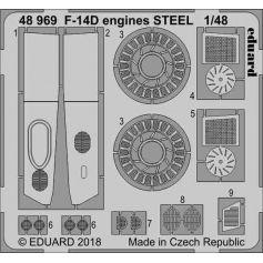 F-14d Engines Steel 1/48