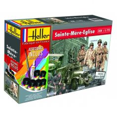 Sainte-Mere-Eglise (GMC, JEEP, 2 sets de figurines) 1/72