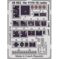 He 111h-16 Radio Compartment 1/48