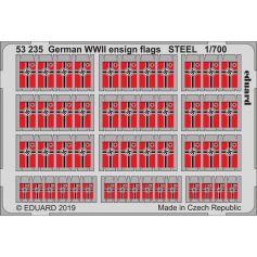 German Wwii Ensign Flags Steel 1/700