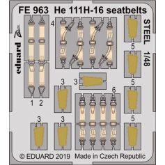 He 111h-16 Seatbelts Steel 1/48