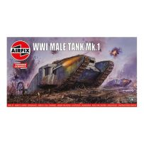 AIRFIX 01315V WWI MALE TANK 1/76