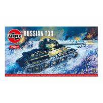 AIRFIX 01316V RUSSIAN T34 MEDIUM TANK 1/76