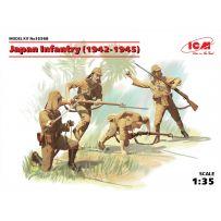 ICM 35568 JAPAN INFANTRY (1942-1945) (4 FIGURES) 1/35 (10/16)