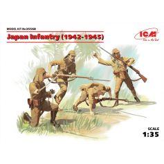 Japan Infantry 1942-1945 4 figures 1/35