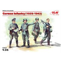ICM 35639 GERMAN INFANTRY (1939-1942) (4 figures) 1:35