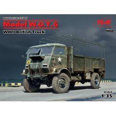 Model W.O.T. 6 WWII British Truck 1/35