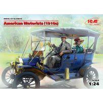 AMERICAN MOTORISTS ANNEES 1910 1/24