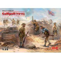 GALLIPOLI 1915 ANZAC / INFANTERIE TURQUE 1/35