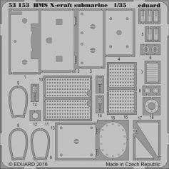 Hms X-Craft Submarine 1/35
