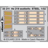 He 219 seatbelts Steel 1/32