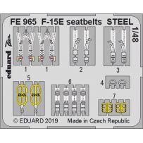 F-15E seatbelts Steel 1/48