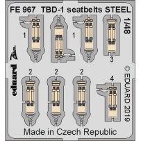 TBD-1 seatbelts Steel 1/48